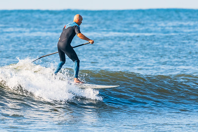 Kevin SUPing Long Beach 9-30-18