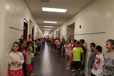 BHS 2017 Seniors & Kindergarten walk