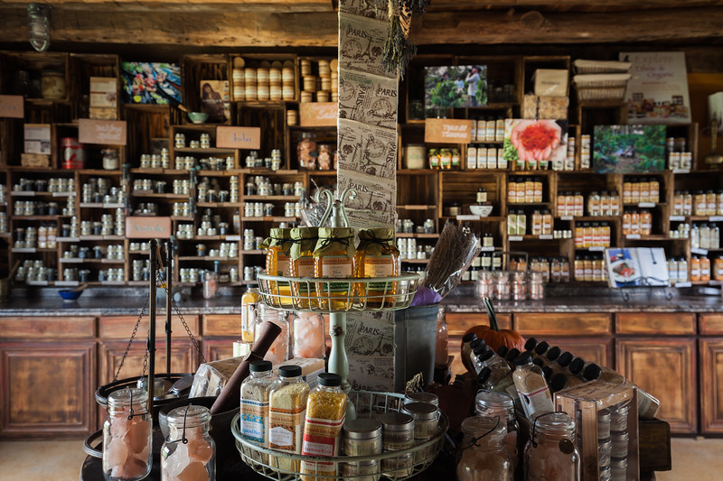 Nirmala Narine's Hudson Valley farm in New Paltz, NY. Nirmala also operates a retail store on her property, Nirmala's Kitchen. The one room store.