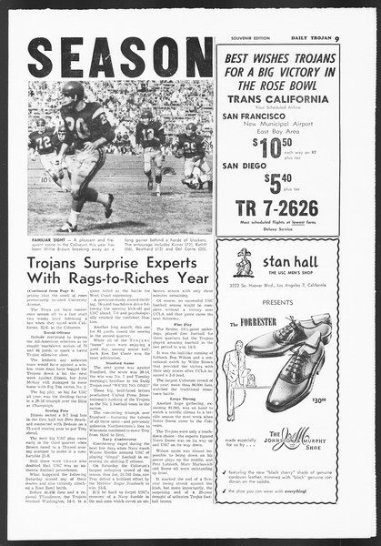Daily Trojan, Vol. 54, No. 55, December 17, 1962