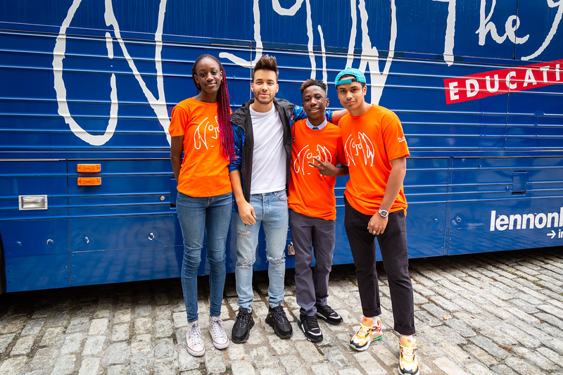 2019_09_16, Bus, City Hall, Exterior, New York, NY, Prince Royce