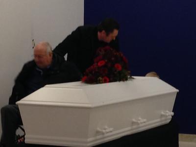 20140123 Karin Hjort Begravelse