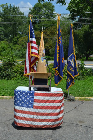 Tenafly, NJ - 9/11 World Trade Center Steel Dedication 2012