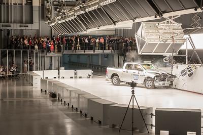 2015-09-11 Dome Inauguration - 02 Visit & Crash