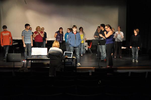 Meet Me In St. Louis - 12/2/10 Rehearsal