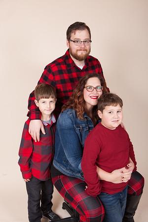 Amber's Family Photos Christmas 2017
