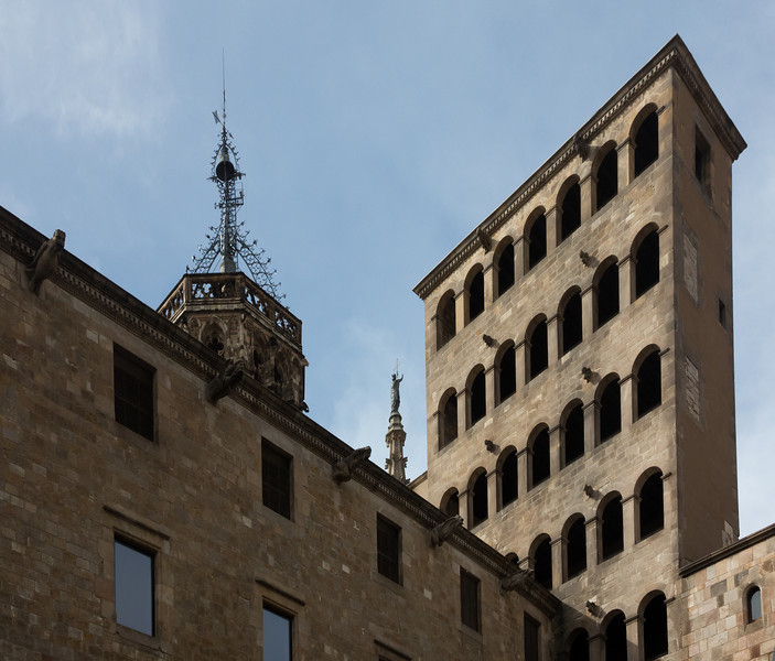 Barcelona, Barri Gotic, Palau Reial Major.