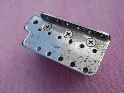 1958 Strat block and plate
