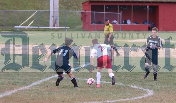 Liberty vs. Sullivan West boys soccer