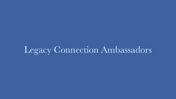 Legacy Ambassadors