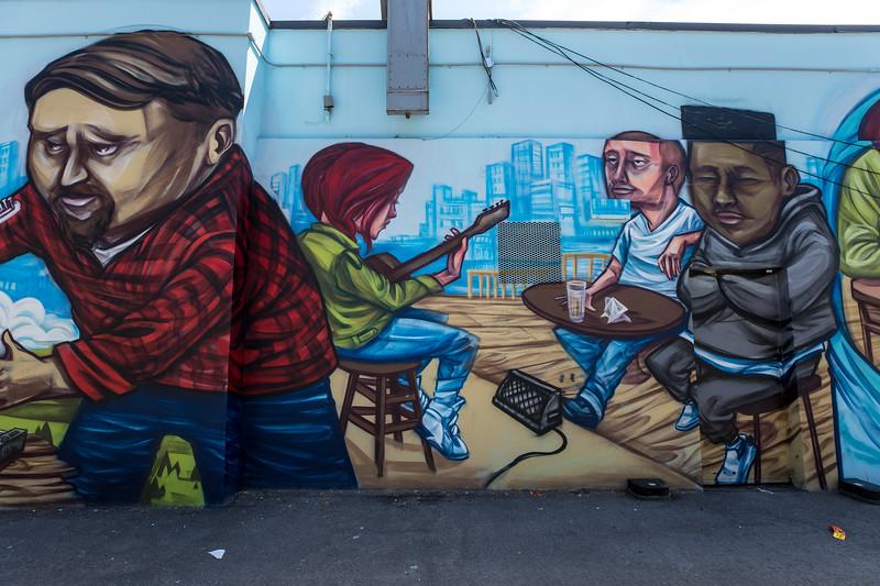 Mural by Elicser