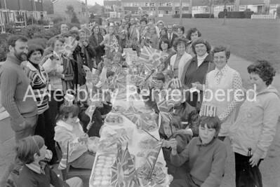 Lancaster Road Jubilee party, June 1977