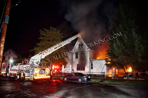 New Haven 2nd alarm 24 Downing St dwelling fire