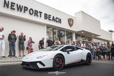 Lamborghini Newport Beach Supercar Saturday