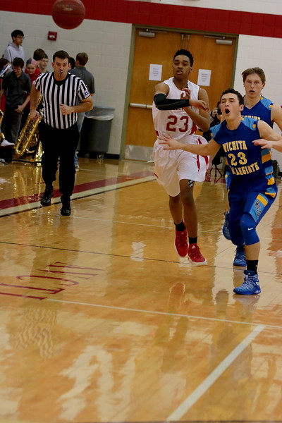 Crusader Basketball vs Collegiate  022417