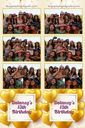 9/25/21 - Delaney's 13th Birthday