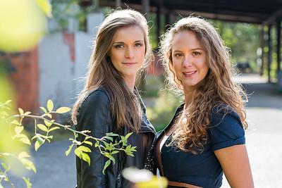 Fotoshoot Ina en Stefanie (Antwerpen Boom)