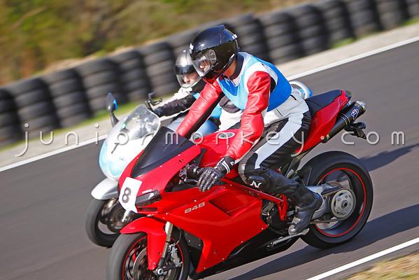#8 - Red Ducati