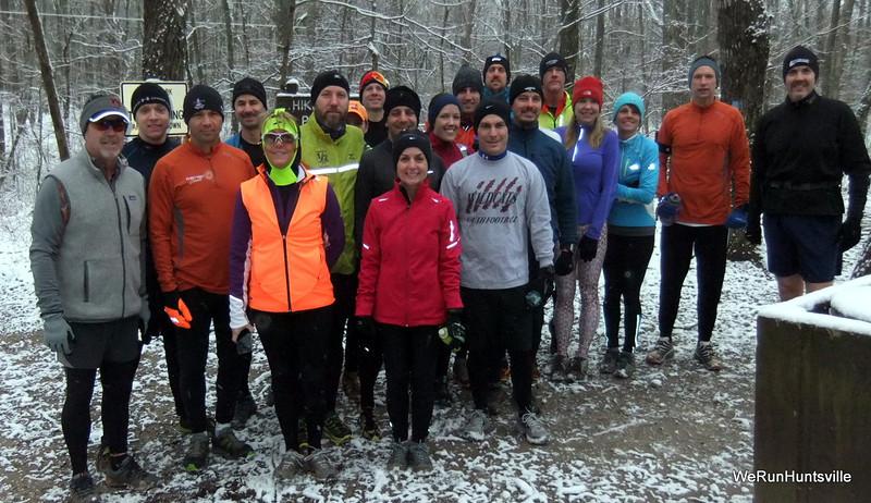 2013 Trail Run Snow