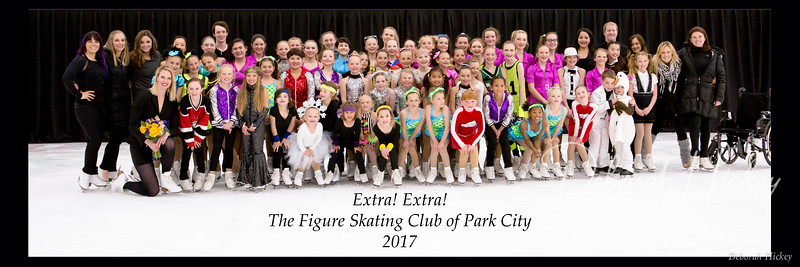 2017 Figure Skating Club of Park City-Spring Show- Extra! Extra!