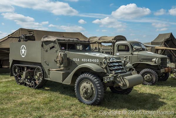 WWII Weekend Vehicles & Re-enactor Camps
