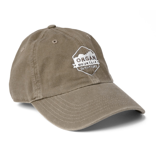 Outdoor Apparel - Organ Mountain Outfitters - Hat - Dad Cap Classic Logo - Driftwood.jpg