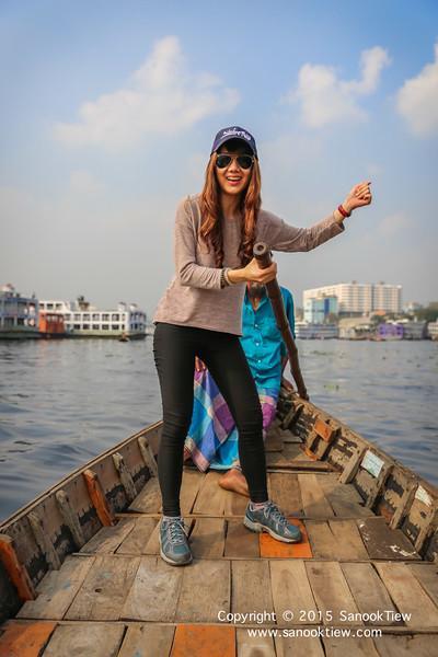 พายเรือใน บุรีคงคา