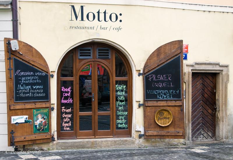 Restaurant in Old Town, Prague