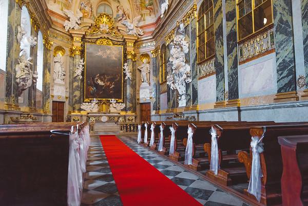 Zamek Valtice :: svatebni kaple