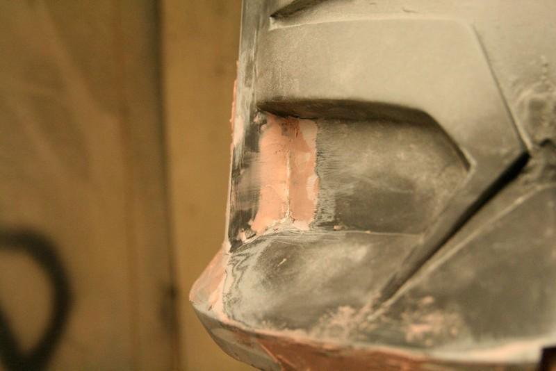 Closeup of indent