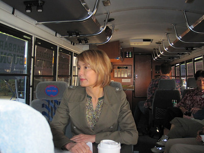 Senator Barbara Buono Bus Trip - May 2013