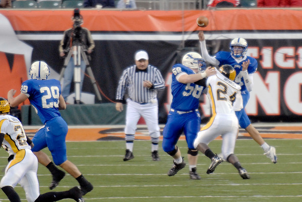 St. Xavier Varsity Football vs. Centerville 11/10/2007