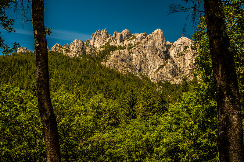 THE CRAGS, Castle Crags State Park, California
