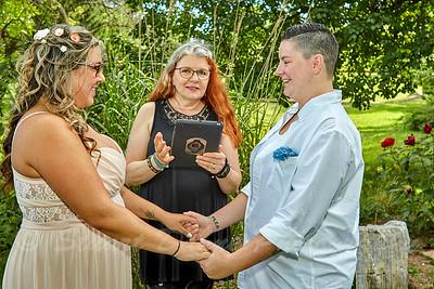 Felicia & Heather Asbury 08-05-17 Almost Heaven Wedding
