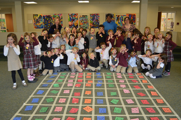Kindergarten Celebrates 100 Days of School
