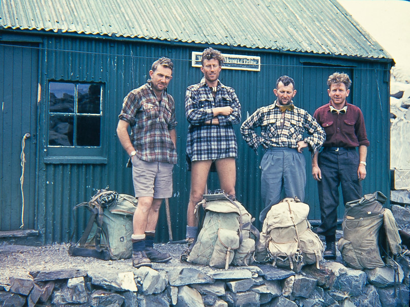 1962 Paul Wheeler, John Clay, Don Peacock,  and JER Mathews up Tasman Glacier _JM_4739.jpg