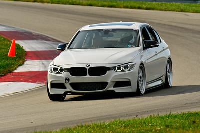 2019 SCCA TNiA Sept Pitt Race White BMW