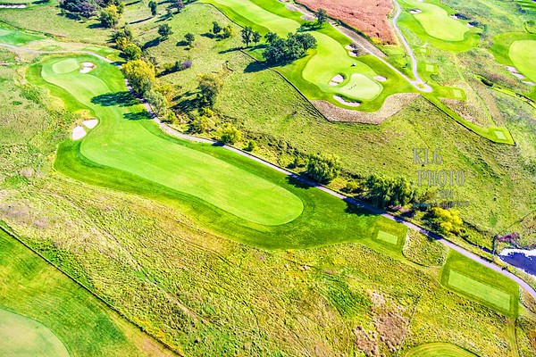 The Harvester Golf Course (Aerial Shots)