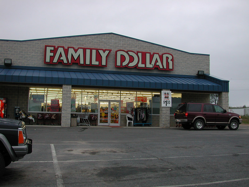 ...Gee according to my wife everyone should shop in Family Dollar. Romney is no exception.