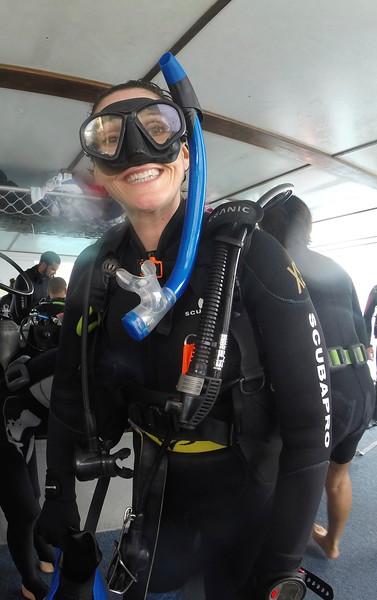 Post diving dorkiness
