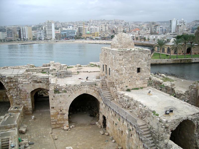 the Sea Castle in Sidon
