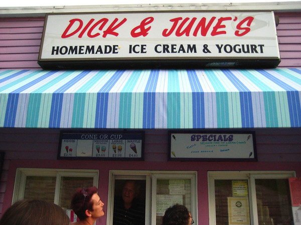 Dick and June's