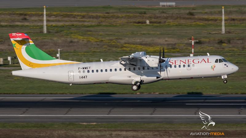 Air Senegal / ATR 72-600 / F-WWET (to be  6V-AMS)