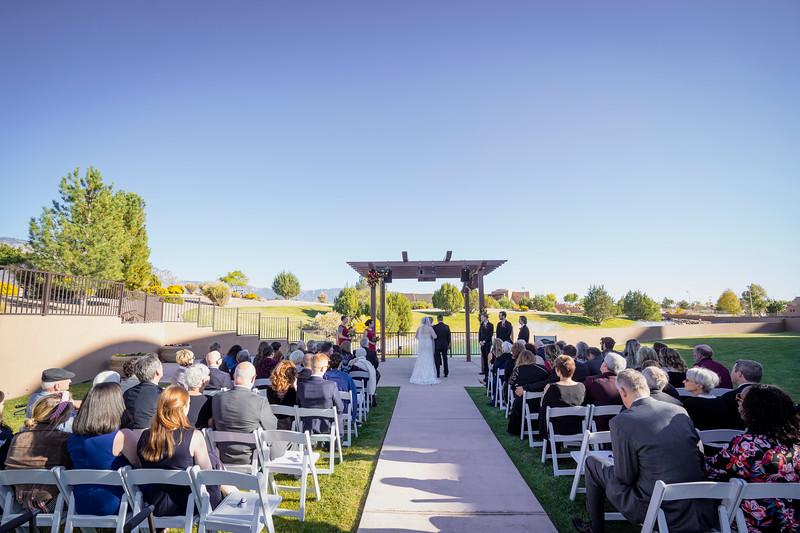Sandia Hotel Casino New Mexico October Wedding Ceremony C&C-24.jpg