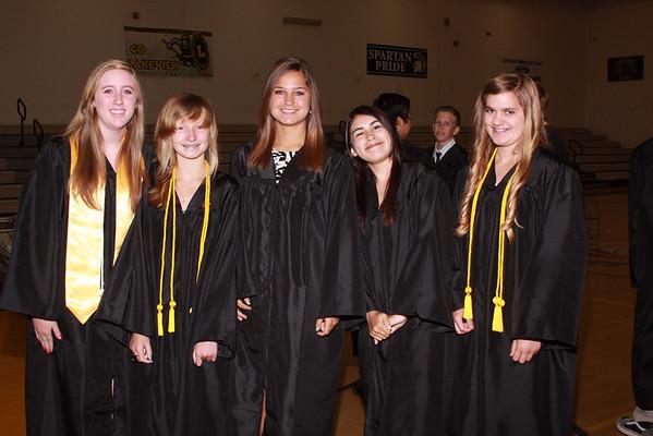 Lakeview Graduation 2012