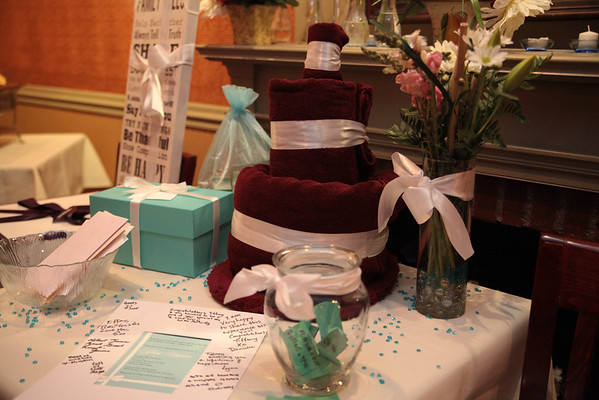 Tiffany's Briday Shower May 20th 2012
