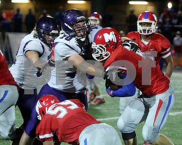 LHS Football at Bishop Miege
