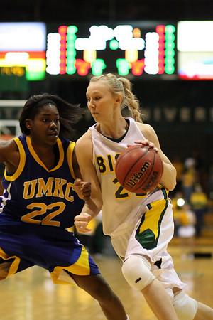 NDSU vs. UMKC 2008, Women's