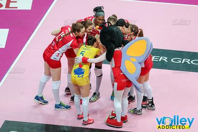 11^ rit: Unet Yamamay Busto Arsizio - Igor Volley Novara