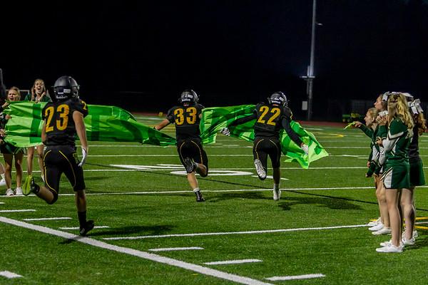 Set seven: through halftime, Vashon Island High School Football v Sultan 09/06/2019